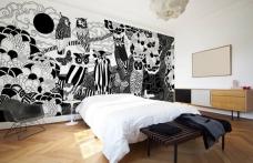 Дизайн стен комнаты