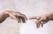 Фреска в виде рук