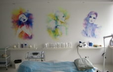 Фото художественное оформление стен