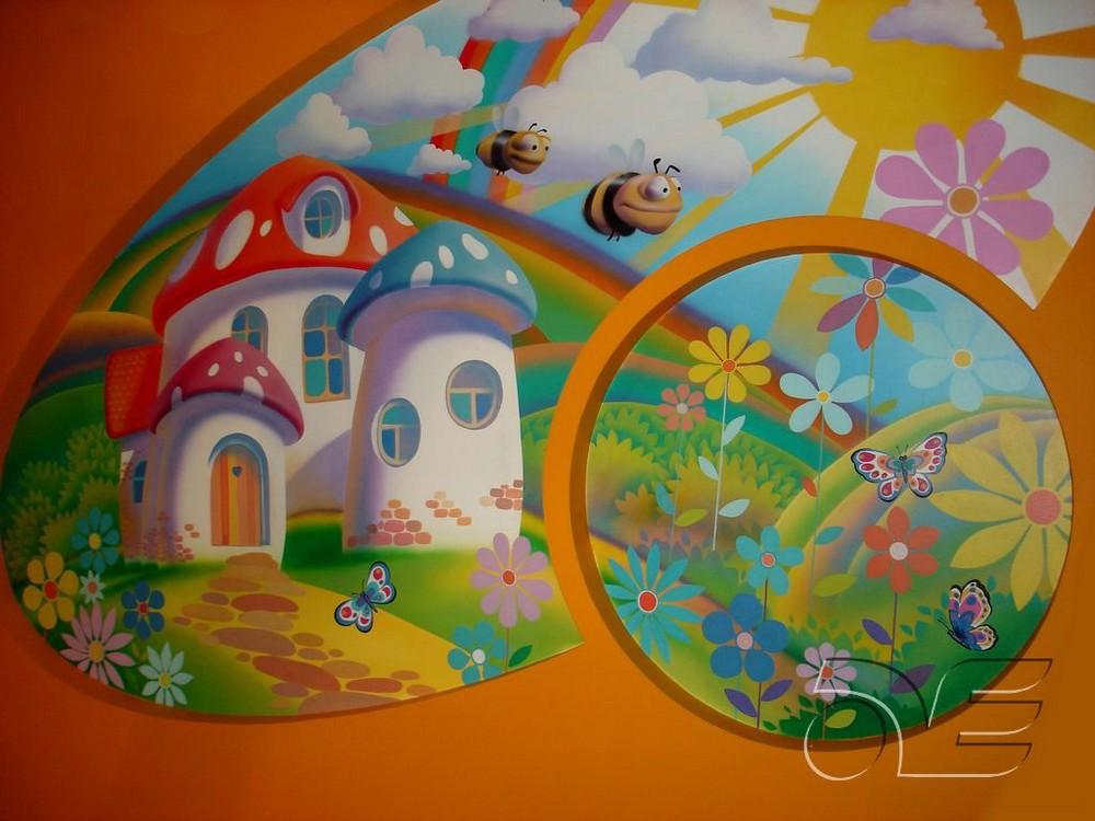 Роспись в детских садах картинки